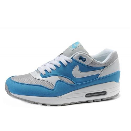 Nike Air Max 87 Blue White мужские АирМаксы