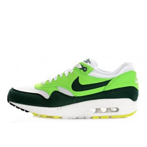 Nike Air Max 87 Green White мужские АирМаксы