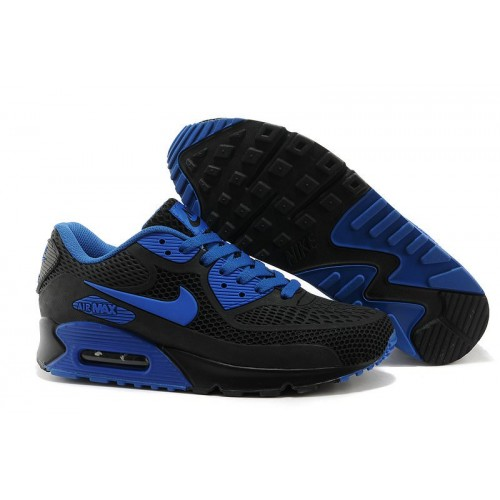 Nike Air Max 90 GL Black Blue мужские кроссовки