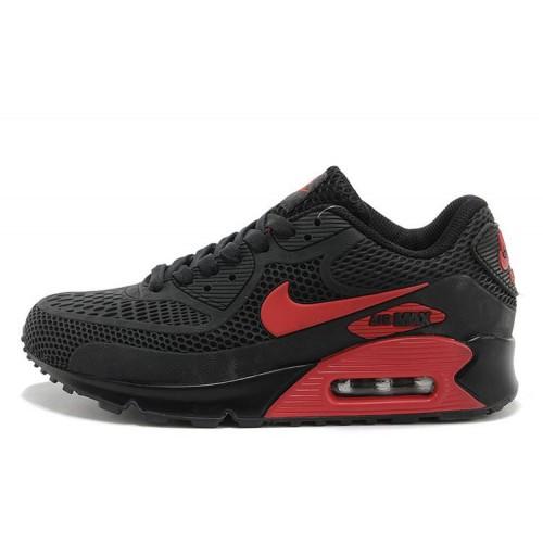 Nike Air Max 90 Gl Black Red мужские АирМаксы