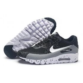 Nike Air Max 90 MD Flyknit Black Grey мужские кроссовки