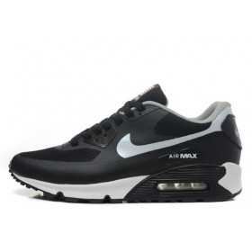 Nike Air Max 90 Hyperfuse Black White USA мужские кроссовки