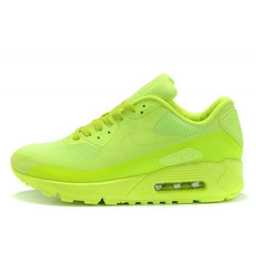 Nike Air Max 90 Hyperfuse Green мужские АирМаксы
