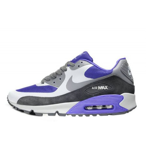 Nike Air Max 90 Hyperfuse Grey Blue мужские АирМаксы