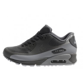 Nike Air Max 90 Hyperfuse Grey мужские кроссовки