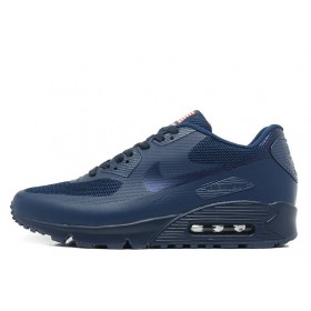 Nike Air Max 90 Hyperfuse Independence Day Navy Blue мужские кроссовки