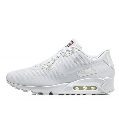 Nike Air Max 90 Hyperfuse Independence Day White мужские АирМаксы