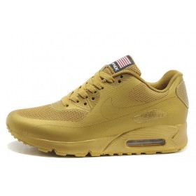 Nike Air Max 90 Hyperfuse USA Gold мужские кроссовки
