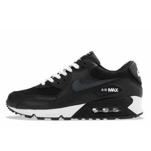 Nike Air Max 90 White Black мужские АирМаксы