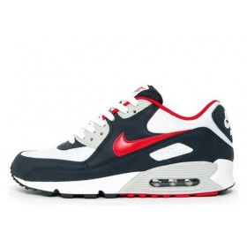 Nike Air Max 90 Blue Red мужские кроссовки