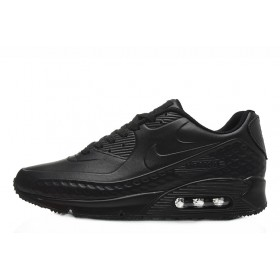 Nike Air Max 90 First Leather Black мужские кроссовки