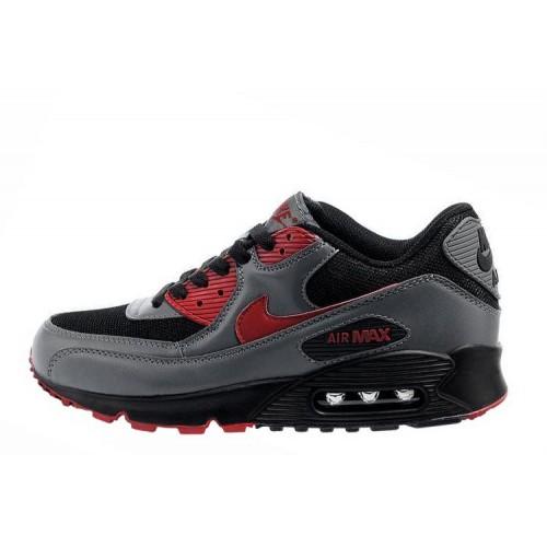 Nike Air Max 90 Grey Black мужские АирМаксы