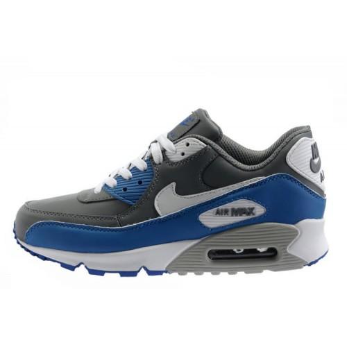 Nike Air Max 90 Grey Blue мужские АирМаксы