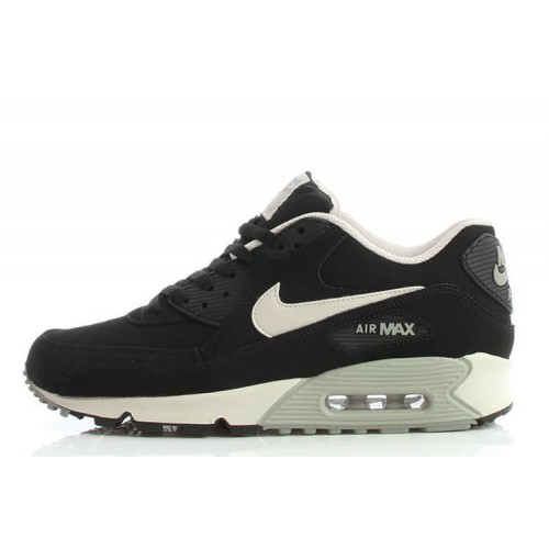 Nike Air Max 90 Essential Black/Silver мужские кроссовки