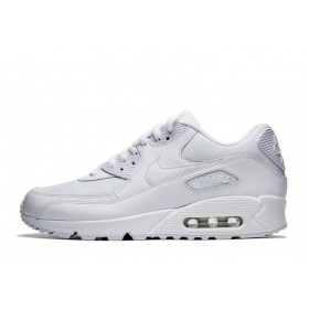 Nike Air Max 90 Essential Triple White мужские кроссовки