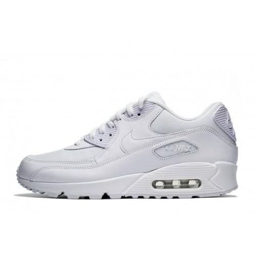 Nike Air Max 90 Essential Triple White мужские кроссовки