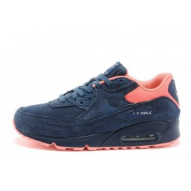 Nike Air Max 90 Premium Anti-Fur Australia Blue Orange мужские кроссовки