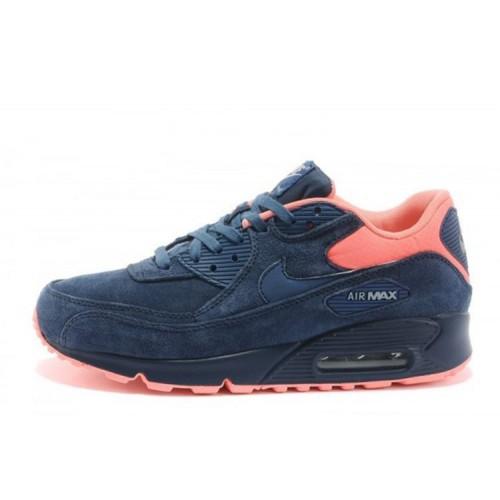 Nike Air Max 90 Premium Anti-Fur Australia Blue Orange мужские кроссовки