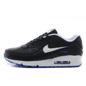 Nike Air Max 90 Premium Black/White мужские кроссовки