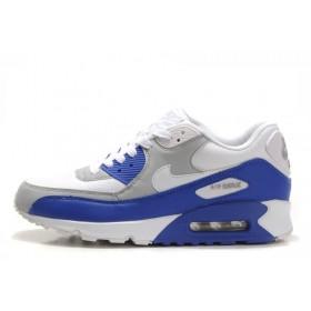 Nike Air Max 90 White Blue мужские кроссовки