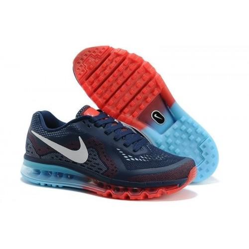 Мужские кроссовки Nike Air Max 2014 Blue Red