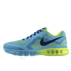 Мужские кроссовки Nike Air Max 2014 Blue (АирМаксы 2014)