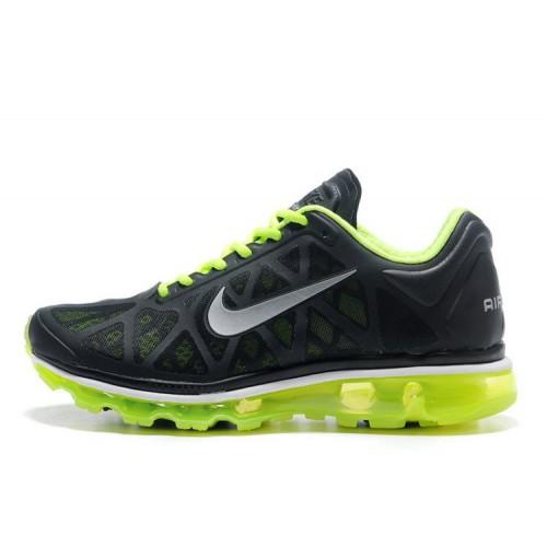 Nike Air Max 2011 Green Black мужские АирМаксы
