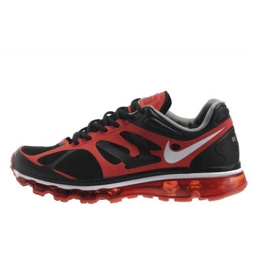 Nike Air Max 2012 Red Black мужские АирМаксы