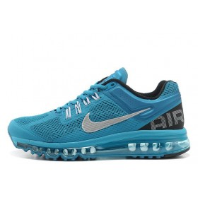 Nike Air Max 2013 Blue Black мужские кроссовки