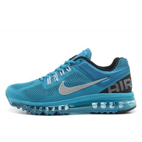 Nike Air Max 2013 Blue Black мужские АирМаксы