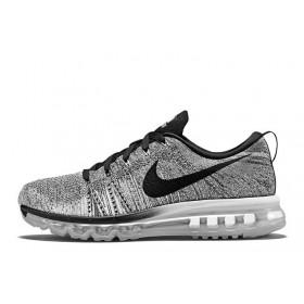 Nike Flyknit Air Max Grey мужские кроссовки