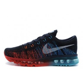Nike Flyknit Air Max Navy Red мужские кроссовки