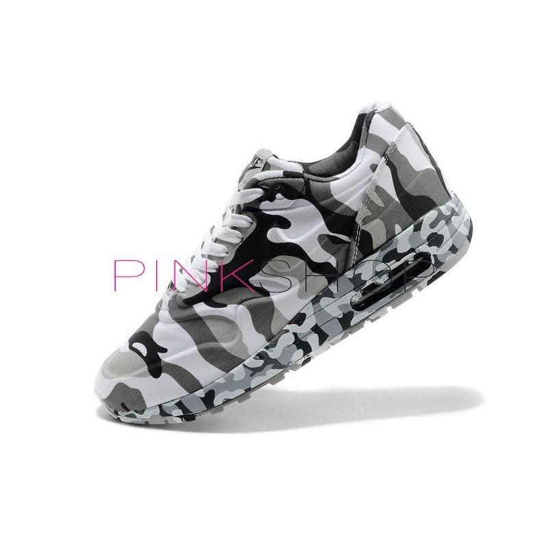 Nike Air Max 87 VT Camouflage Grey мужские АирМаксы