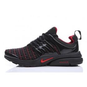 Nike Air Presto Flyknit Weaving Black Red