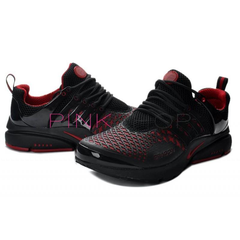 d86d00b6 Nike Air Presto Black Red Stars купить мужские кроссовки Nike в ...