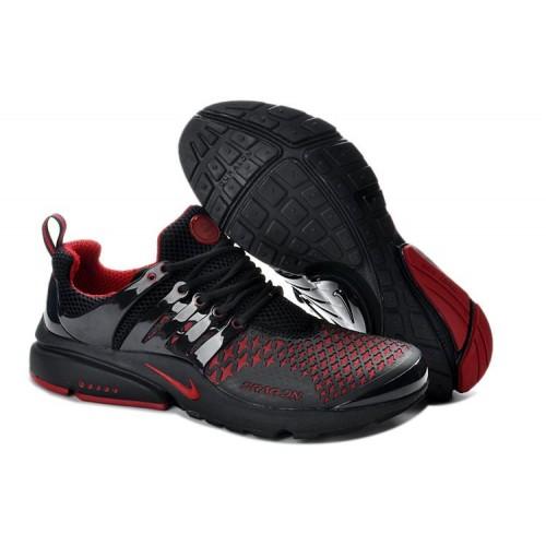 Nike Air Presto Black Red Stars мужские кроссовки