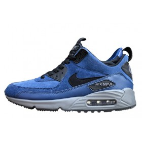 Nike Air Max Sneakerboot Blue Black мужские кроссовки