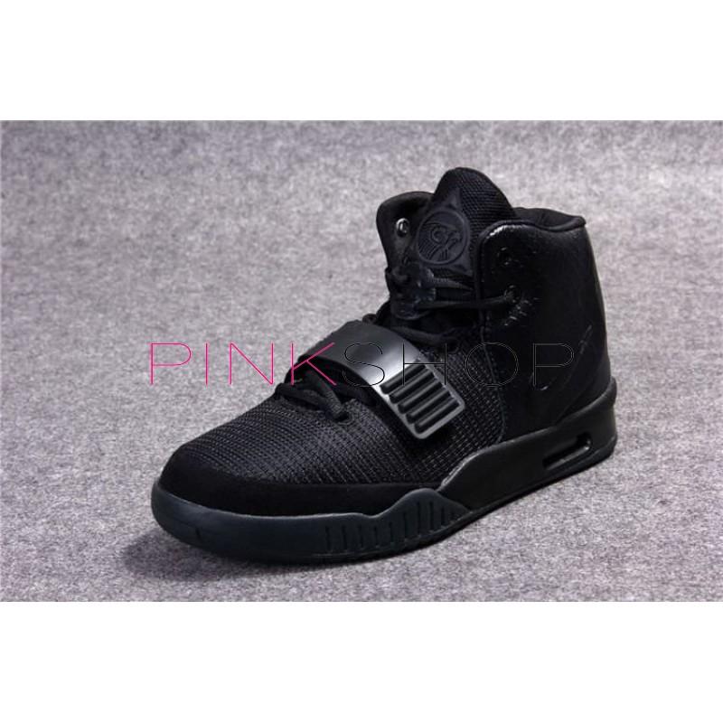 5c90a010 Nike Air Yeezy 2 Pure Black мужские кроссовки Найк купить в Киеве ...