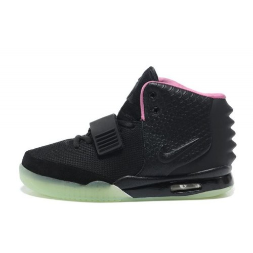 Nike Air Yeezy 2 Black мужские кроссовки