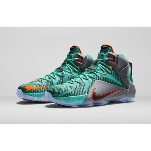 Nike Lebron 2012 Data Green мужские кроссовки