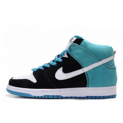 Nike Dunk High Blue White мужские кроссовки