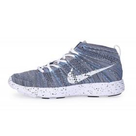 Nike Lunar Flyknit Chukka Grey мужские кроссовки