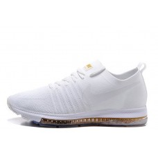 Nike Zoom All Out Flyknit All White мужские кроссовки