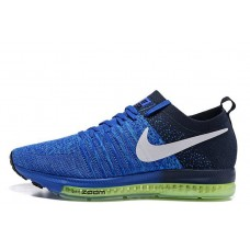 Nike Zoom All Out Flyknit Blue мужские кроссовки