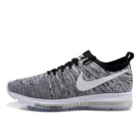 Nike Zoom All Out Flyknit Wolf Grey мужские кроссовки