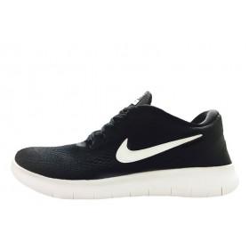 Nike Free Run Flyknit V.1 Black White мужские кроссовки