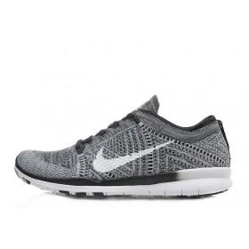 Nike Free Run TR 5.0 Flyknit Grey мужские кроссовки