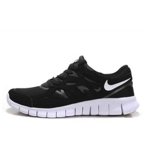 Nike Free Run Plus 2 Black мужские кроссовки