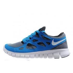 Nike Free Run Plus 2 Blue мужские кроссовки