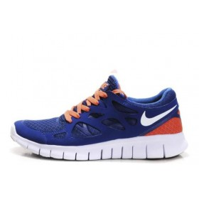 Nike Free Run Plus 2 Blue мужские кроссовки для бега